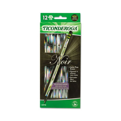 Image of the product Ticonderoga Noir Pencil
