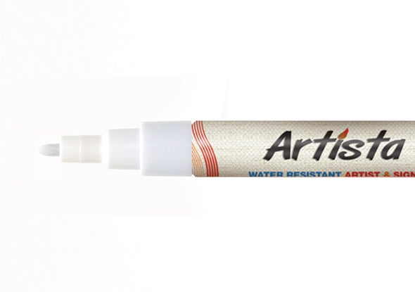 1mm Fine Tip Chalk White Artista Pro