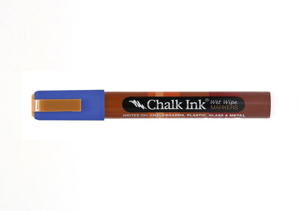 Chalk Ink® Pacific Blue 6mm Chisel Tip Wet Wipe Marker