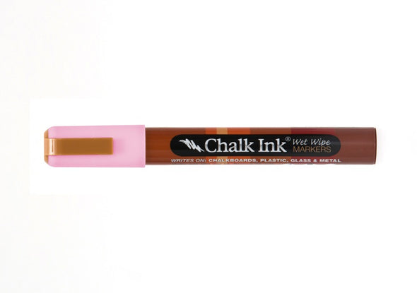 Chalk Ink® Piggy Bank Pink 6mm Chisel Tip Wet Wipe Marker