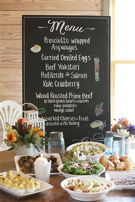 Image of the product Menu Chalkboard