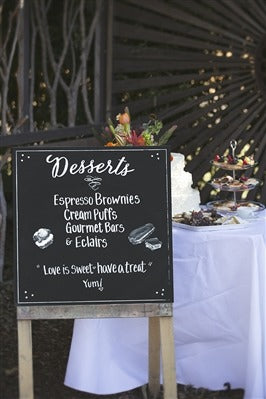 Image of the product Desserts Chalkboard
