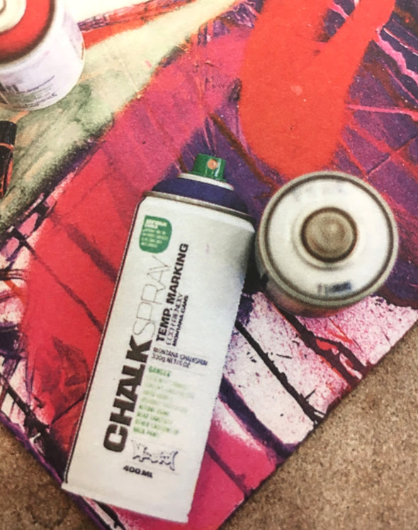 Montana Chalk Spray Paint - Violet