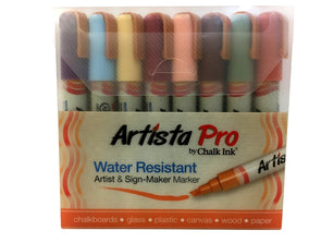 6mm Earthy 8 Pack Artista Pro