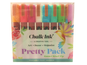 6mm Pretty Pack 8 Pack Wet Wipe