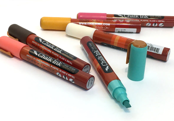 6mm That 70's Pack Set of 6 Wet Wipe Markers