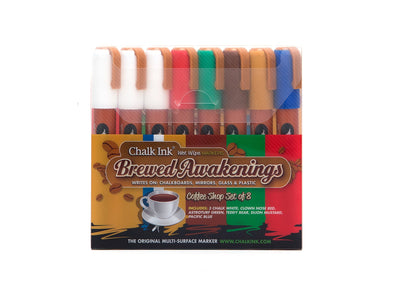 Image of the product Chalk Ink 6mm Brewed Awakenings 8 Pack