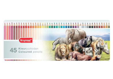 Image of the product Bruynzeel Wild Animals Colored Pencils