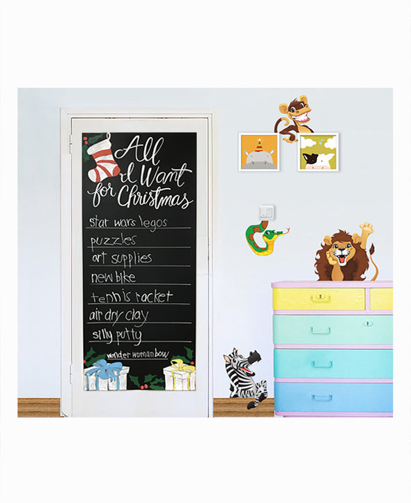 "Giant Chalkboard Sheet 21.5"" x 51.5"""