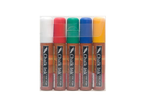 Image of the product 15mm Chalk Ink Classic 5 Pack Wet Wipe Markers