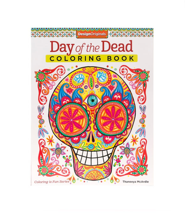 Image of the product Day of the Dead Coloring Book