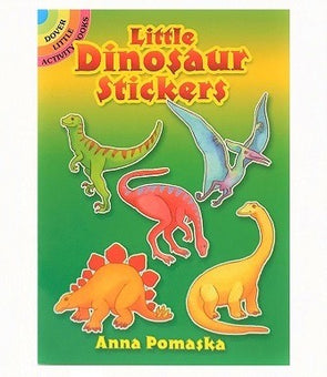 Little Dinosaur Stickers Book