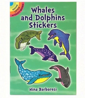 Whales and Dolphins Stickers Book