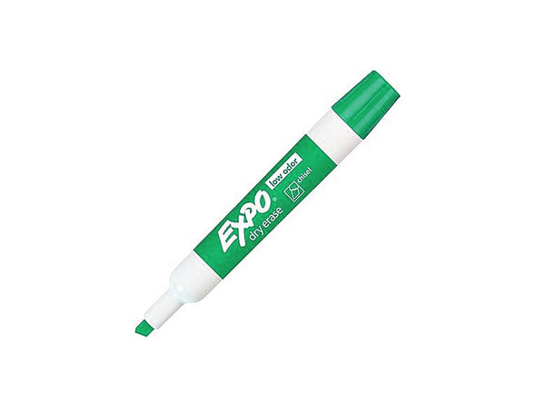 Expo Dry-Erase Green Chisel Tip