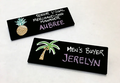 Chalkboard Name Tags