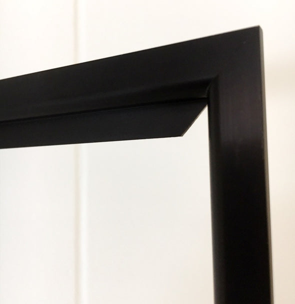 Super Slim Drop-in Frame Black