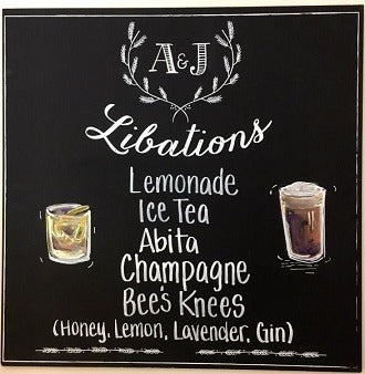 Image of the product Libations Chalkboards