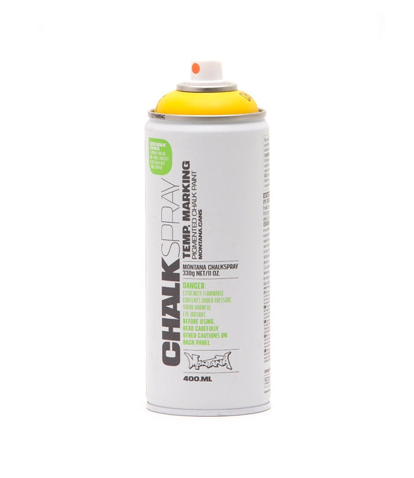 Image of the product Montana Chalk Spray Paint - Yellow