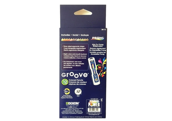 Prang Groove Colored Pencils