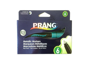 Prang Metallic Markers 6 Pack