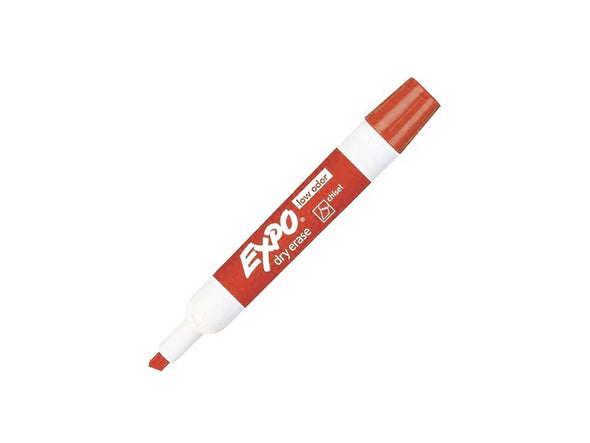 Expo Dry-Erase Red Chisel Tip