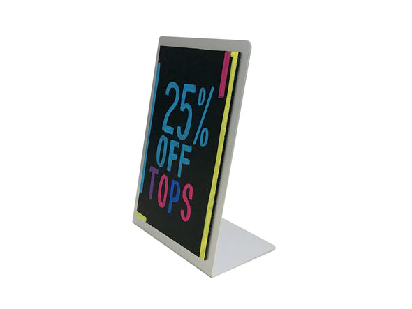 "8 1/2""W x 11""H Counter Top Chalkboard"
