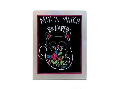 "5 1/2""W x 7""H  Counter Top Chalkboard"