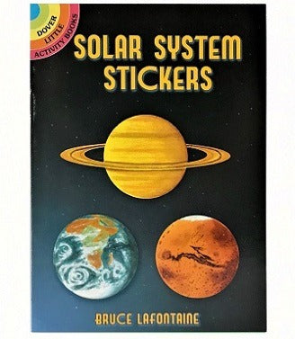 Solar System Stickers Book