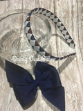 LVDS - Pinwheel Bow on Headband