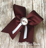 LVDS - Maroon Cheer with Logo Bottlecap