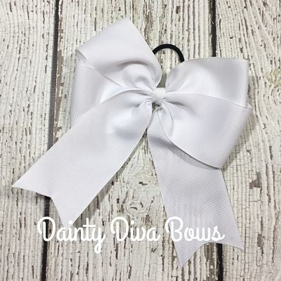 LVDS - Double Loop Pony Tail Bow