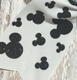 Disney Cheer Bow with Mickey Mouse Design