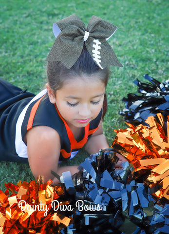 Football Cheer Bow