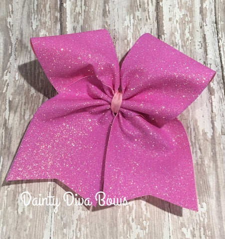 24 COLORS - Glitter Cheer Bow