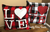 Love Throw Pillow Cover - 18x18