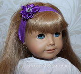 "18"" Doll Tutu and Headband for American Girl Doll"