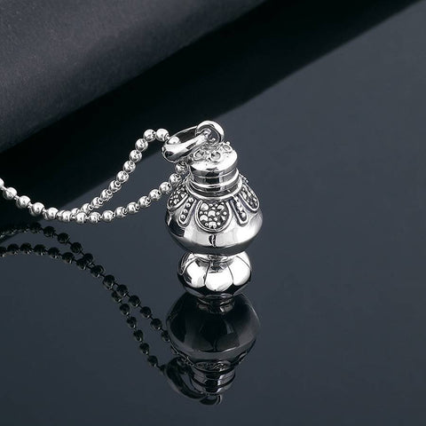 Buddhist Treasure Vase Pendant | Mantrapiece.com