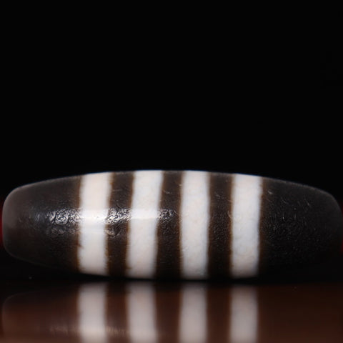 Striped Dzi Bead | MANTRAPIECE