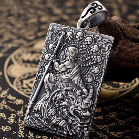 Ksitigarbha Great Vow Pendant - Mantrapiece.com
