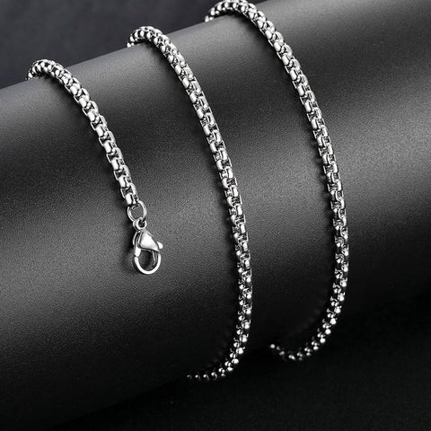 Snake Bone Stainless Steel Chain Necklace - Mantrapiece.com