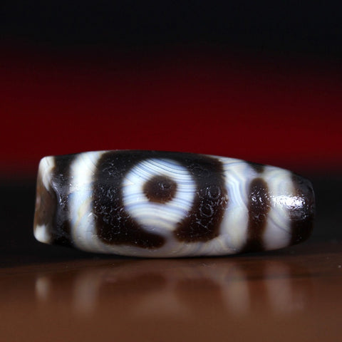 Two Eyes Dzi Bead | MANTRAPIECE