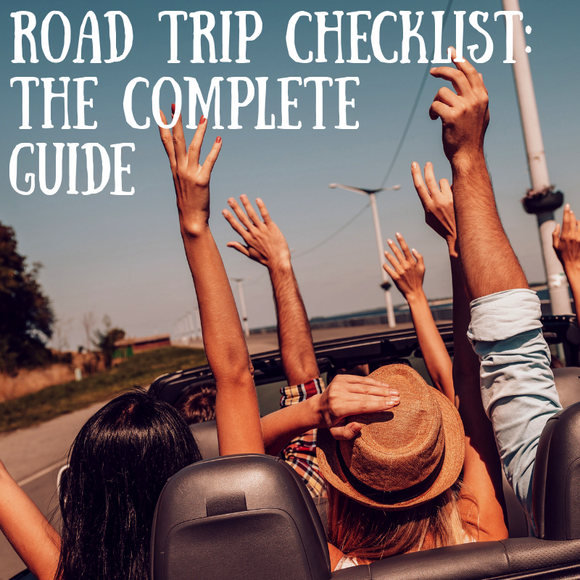 Are Road Trips Safe? Follow This Complete Checklist & Stay Safe! This Guide Includes Everything You'll Need To Stay Safe On Your Next Cross Country Road Trip