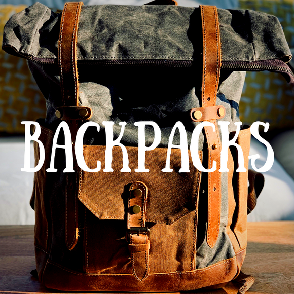Browse Our Collection Of High Quality, Rugged Canvas & Leather Rucksacks & Backpacks