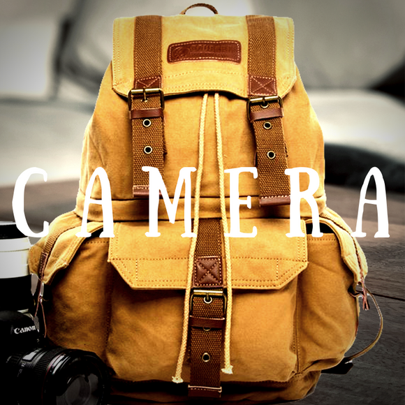 SHOP OUR COLLECTION OF RUGGED VINTAGE DSLR CAMERA BACKPACKS AND TRAVEL BAGS