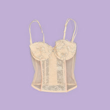 Load image into Gallery viewer, SALE ~ Vintage 90s Burgundy Glitter Top Size UK12