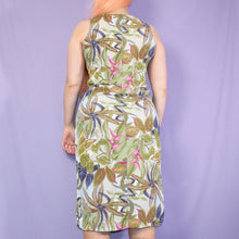 Load image into Gallery viewer, Vintage 90s Floral Dress Size UK10