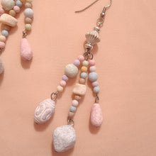 Load image into Gallery viewer, Handmade pastel bead drop earrings
