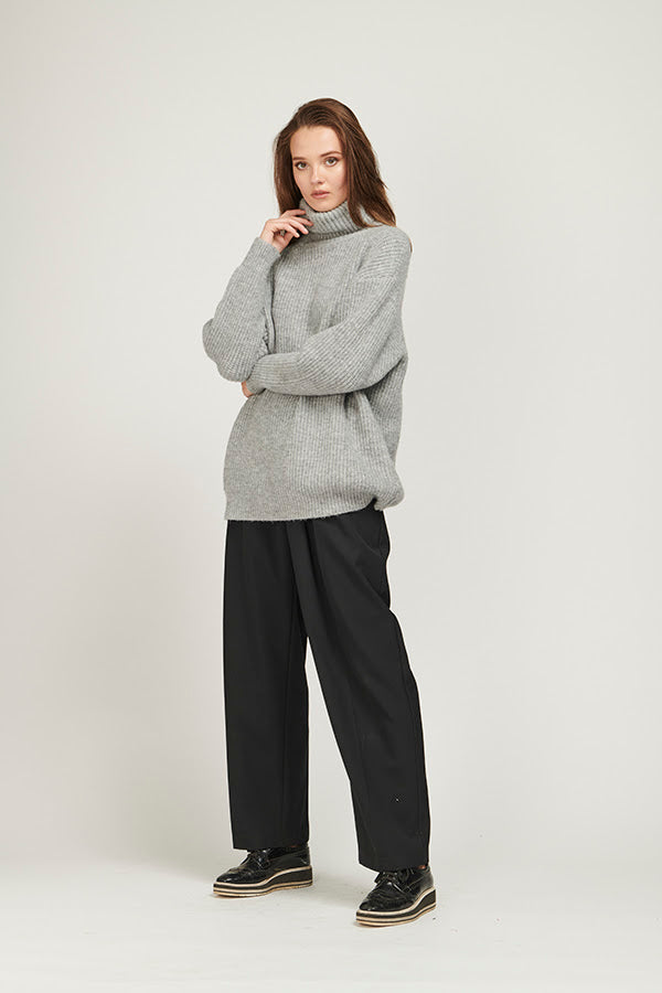 Off Duty Knit - Grey