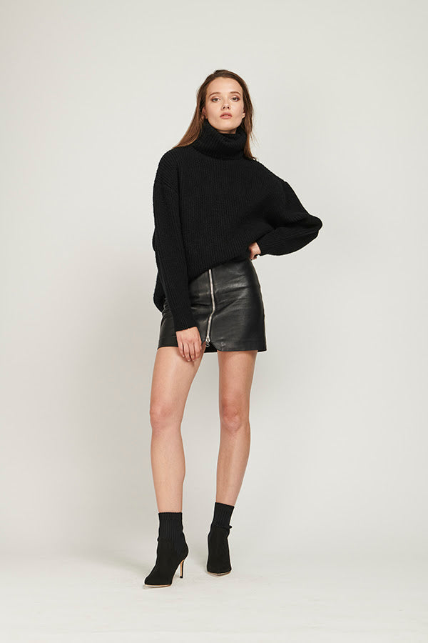 Off Duty Knit - Black