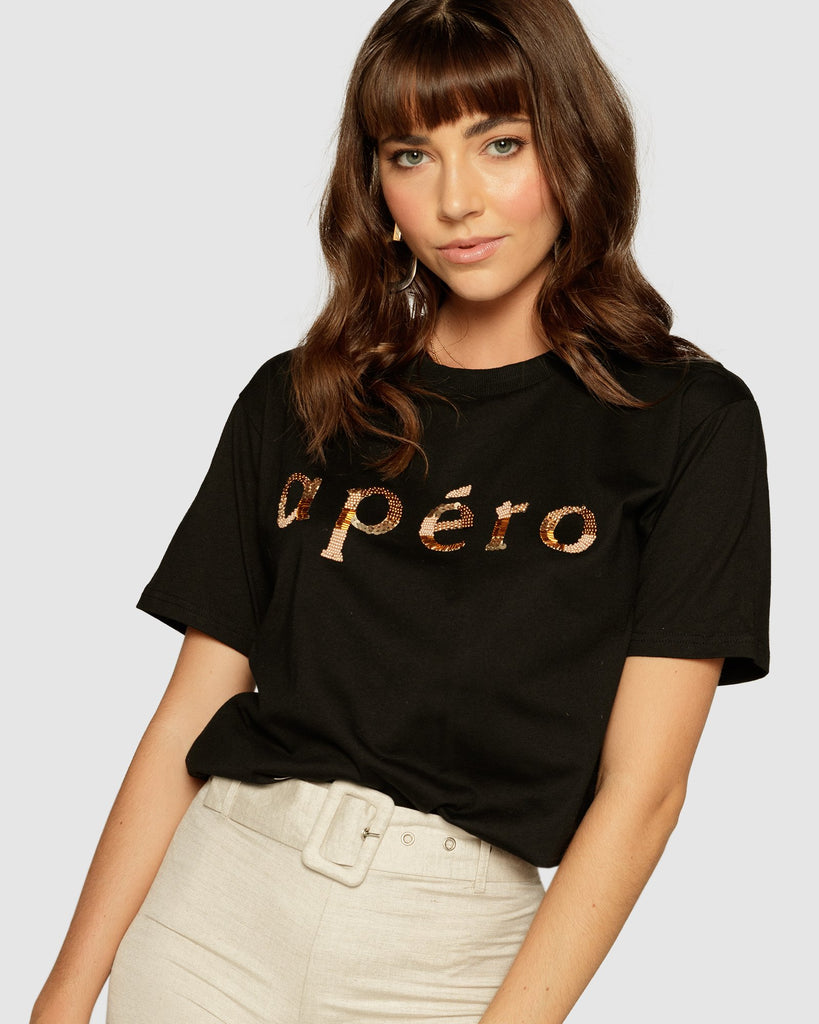 Apéro Mixed Bead Tee